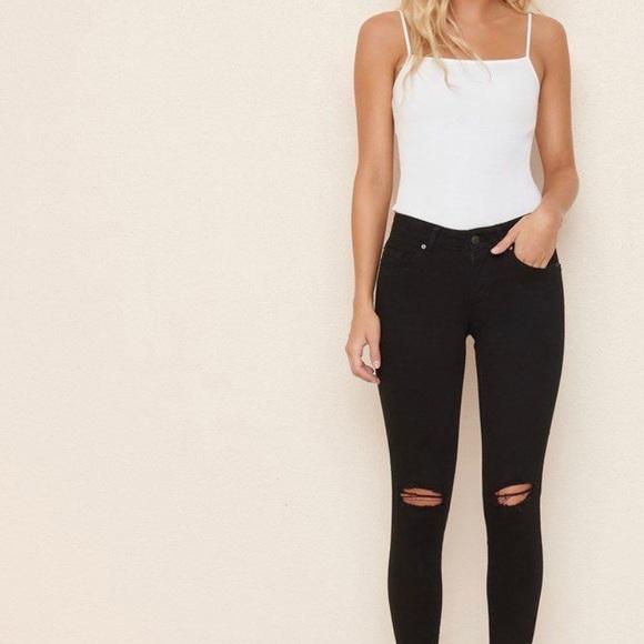 Garage ripped jeans ( black )